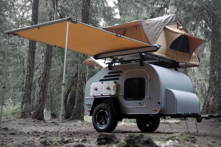 Teardrop trailer camper