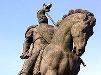 Statue of King Decebalus, Deva, Romania, Romania