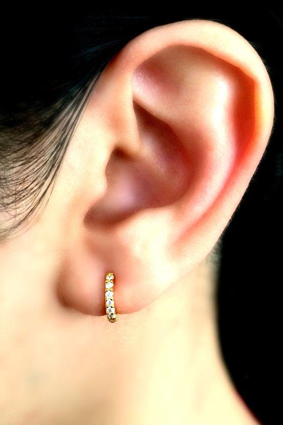 Best 25+ Diamond hoop earrings ideas on Pinterest ...