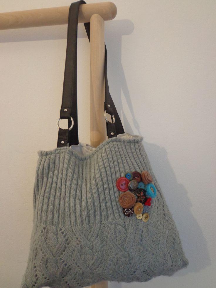 pulcsiból táska