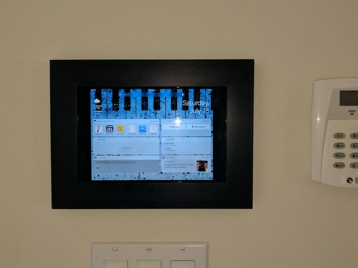 Need A Home Controller For Your Smarthome Why Not Use An Ipad Or Tablet