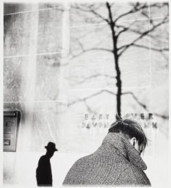 """ Elliott Erwitt :: Rockefeller Center, New York City, 1950 /"