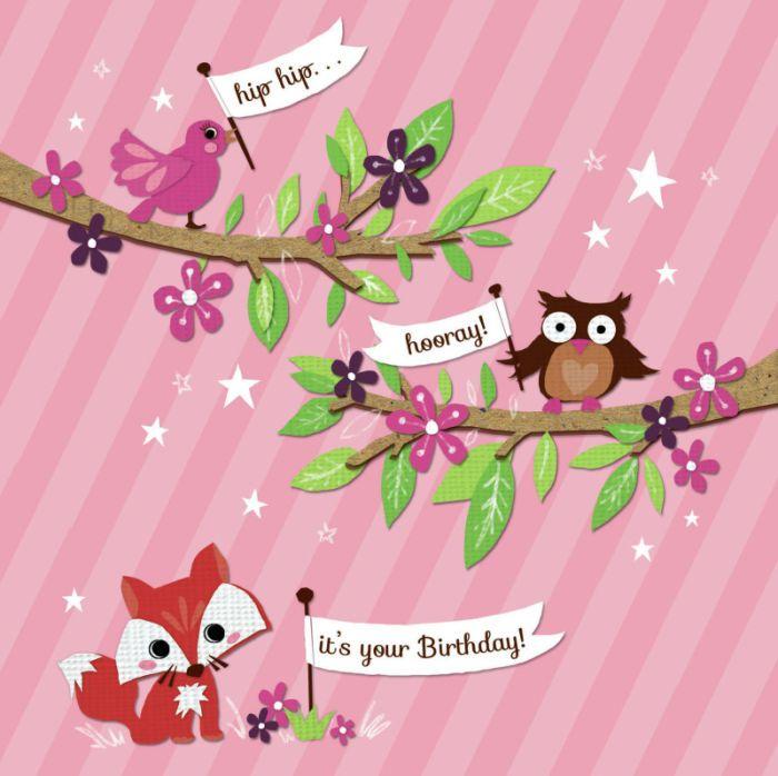 Woodland Animals Birthday