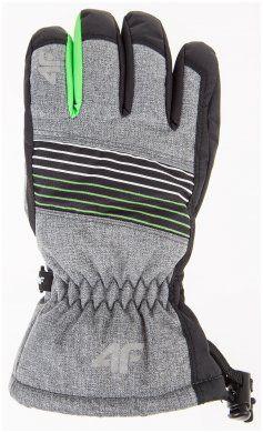 Rękawice chłopięce JREM200 - ciemny szary melanż