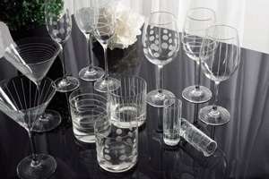 The 'Cheers' collection from Mikasa/ Creative Tops www.creative-tops.com #tableware #glassware #creativetops