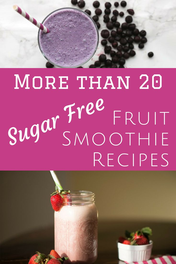 More than 20 Sugar-Free Fruit Smoothie Recipes: Low Carb, THM, Sugar Free, Healthy, & Delicious (Flavored Water Recipes Sugar)