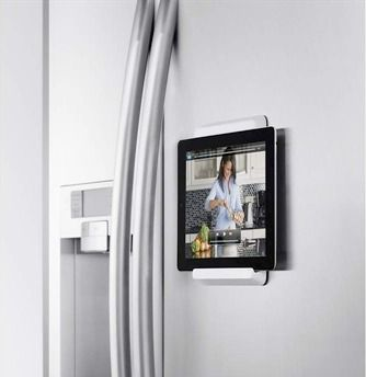 Ohmygosh - no way! iPad kitchenmount