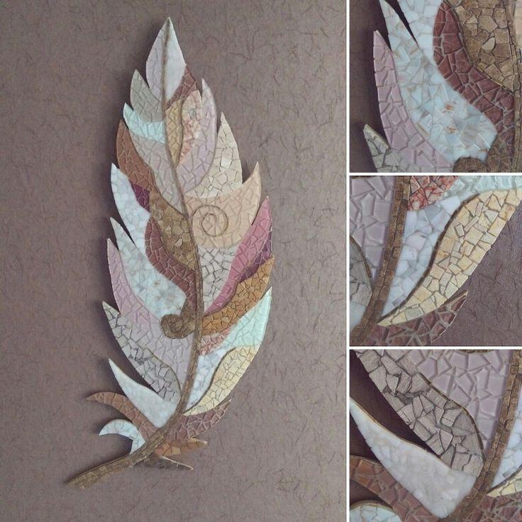 Mosaic artwork by artist Julia Gorbunova