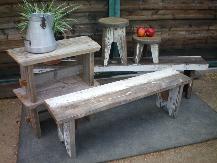 furniture from Wine Country Woodworks