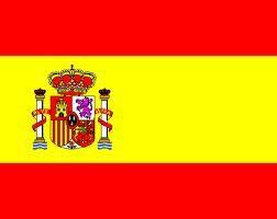 Le drapeau espagnol, rouge et jaune. © DP