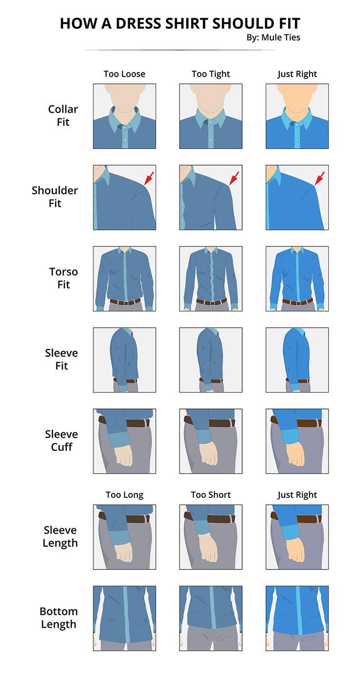 "Illustration ""How a dress shirt should fit"". Client: Mule Ties Date: March 2016"