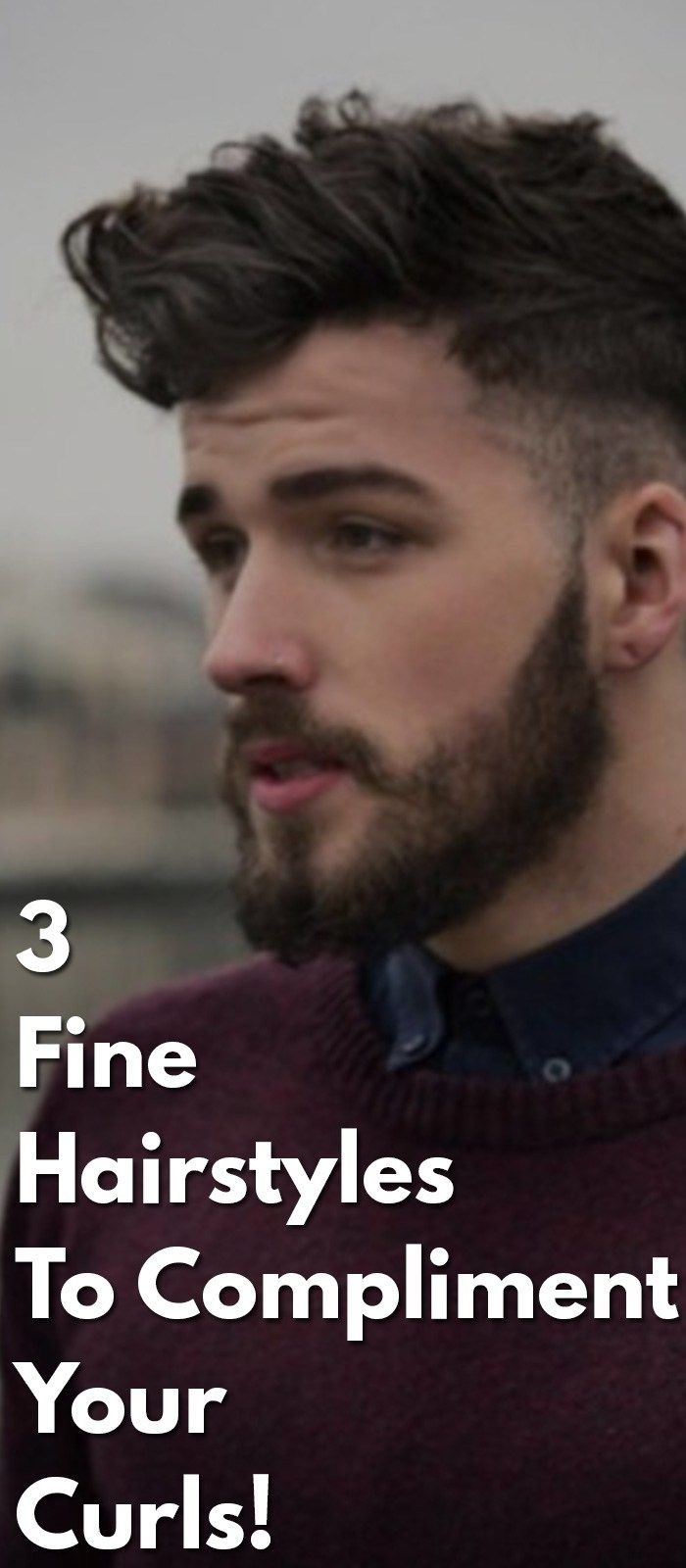 fine hairstyles for curls mens hairstyle pinterest fine