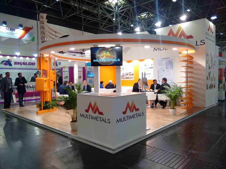 The bespoke trade show stand designed for Multimetals at Wire and Tube 2016, Dusseldorf, Germany.
