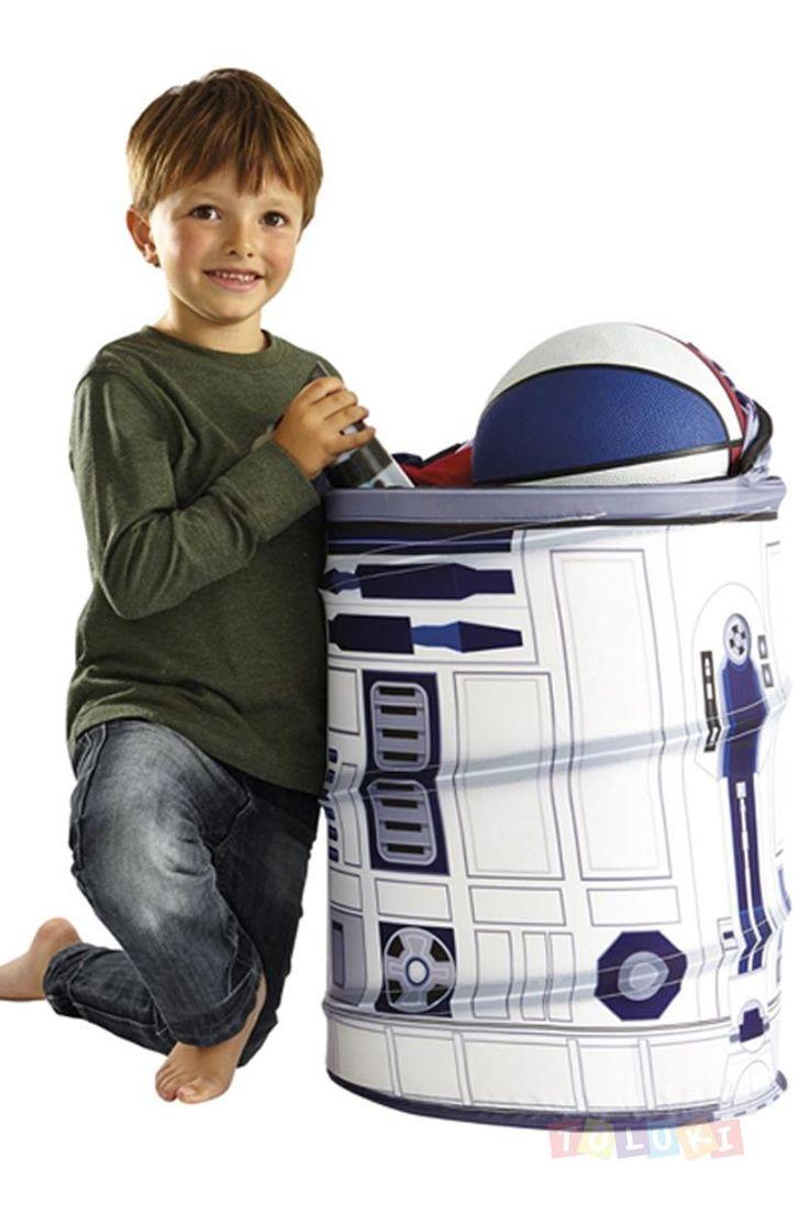 Rangement Pop up Star Wars R2D2   https://www.toluki.com/prod.php?id=1433 Trop pratique pour y ranger ses articles de sport du mercredi am ! #Toluki  rentrée scolaire, fourniture et vêtement D'autres modèles sont disponibles dans notre boutique en ligne