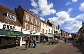 South Street in Chichester Town Centre