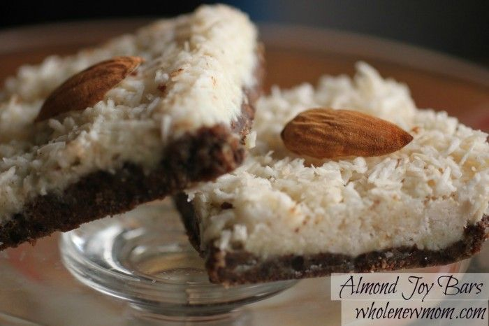 healthy chocolate almond joy home made candy, I will definitely be making these this weekend.