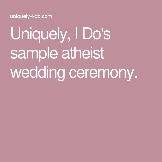 25+ Best Ideas About Wedding Officiant On Pinterest
