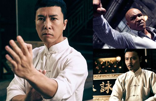 """Donnie Yen, Mike Tyson, and Max Zhang star in """"Ip Man 3"""", which will be released during Christmas 2015."""