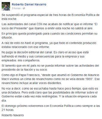 GRUPO DE EXPERTOS EN TODO: CRISTINA CENSURÓ PPT, EL PROGRAMA DE LANATA