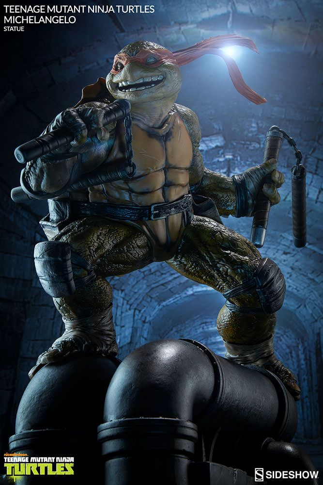 TMNT Michelangelo Statue by Sideshow Collectibles                                                                                                                                                                                 More