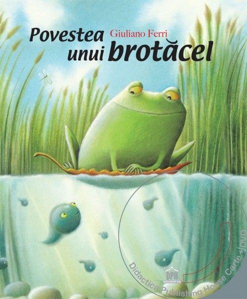 Povestea unui brotacel (Carte + DVD) - Giuliano Feri - Varsta: 3+.  - Nu este simplu sa te faci mare! Mormocel, un mormoloc care traieste intr-un iaz, experimenteaza in fiecare clipa aventura maturizarii sale.