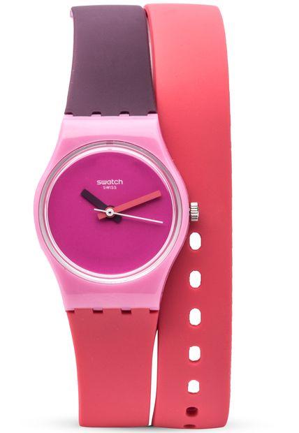 reloj swatch fun in blue rosado de swatch en dafiti