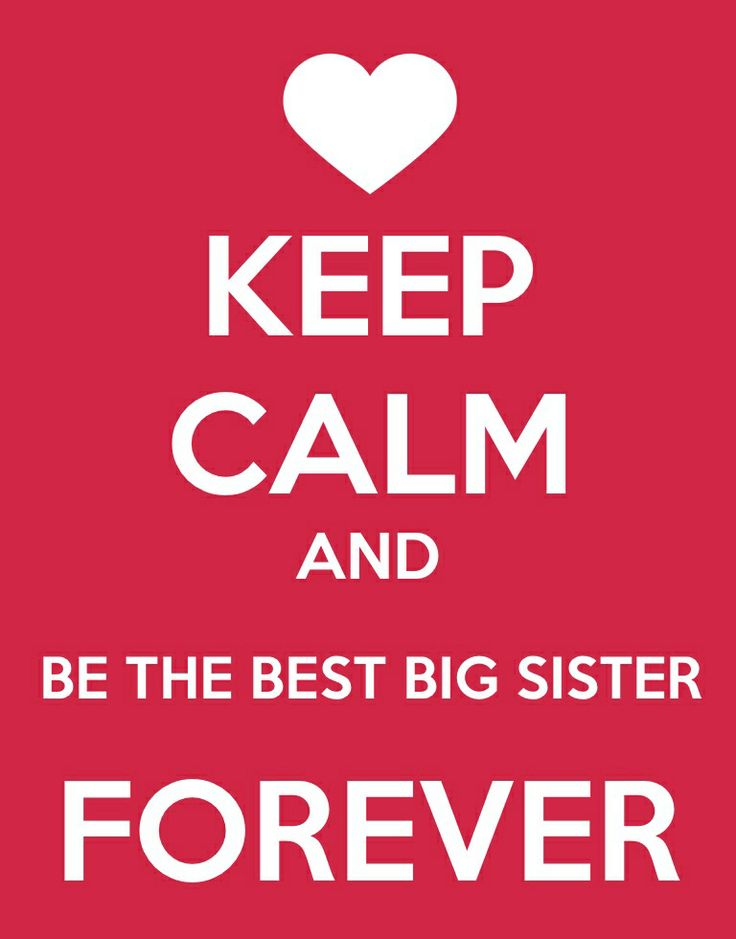 I made this for my big sis