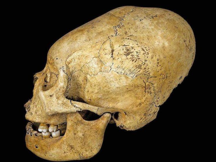 Antik Peru'da Şekillendirilmiş Bir Kafa tası