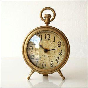 置時計 置き時計 おしゃれ アンティーク インテリア