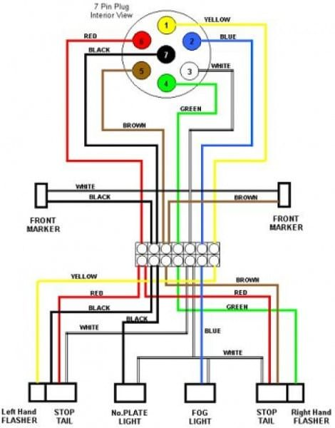 7 pin wiring diagram chevy
