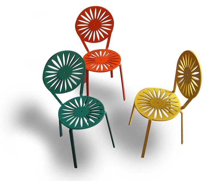 Miniature Terrace chairs. Wisconsin Union terrace Store