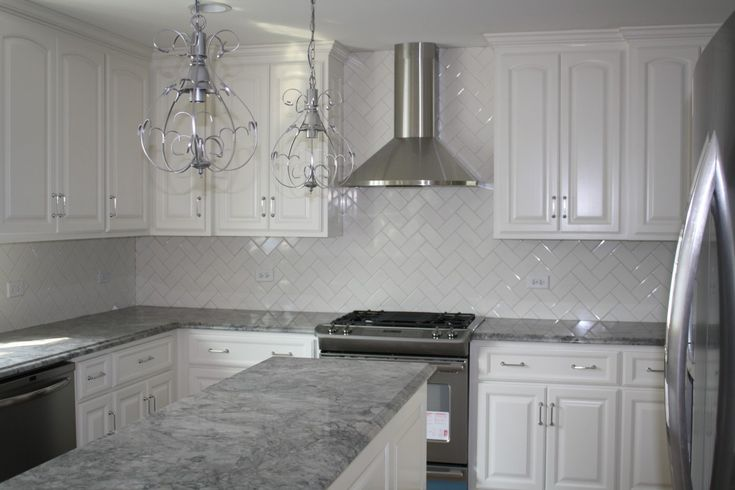 Grey Granite Countertops With White Cabinets 3bantu86