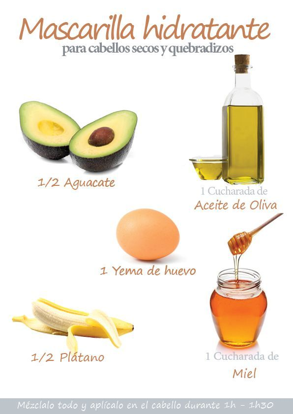 Mascarilla hidratante para cabellos secos y dañados a base de aguacate  #cabelloseco #cuidadodelcabello #belleza: