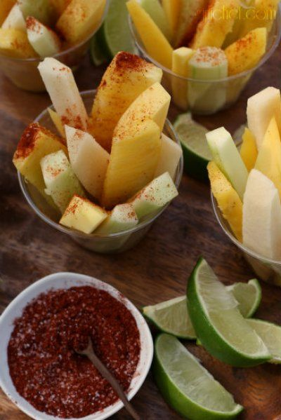 girlichef: Jicama, Cucumber, & Fruit Cups w/ Chile & Lime