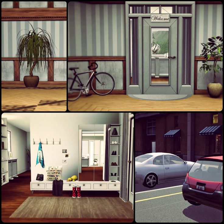 Simberry Apartment 4D / Sims 3 / Download / Modern