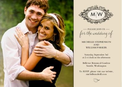 Walmart photo cards and wedding invitations on pinterest for 4x8 wedding invitations