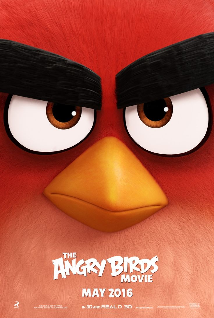 Brand new #angrybirds poster. Coming May 2016 To a theater near you.