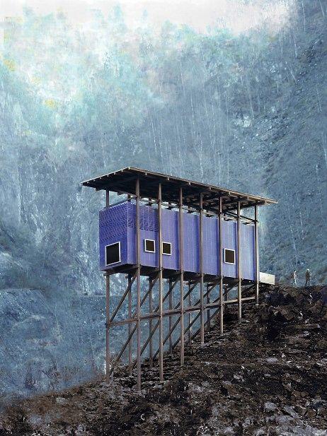 Sinkgruvemuseum, Sauda - Peter Zumthor