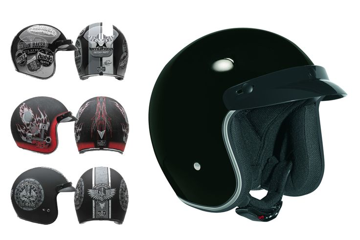 Casque visage ouvert nouvelle collection 2017 (graphique) - Price:75  Casque de moto visage ouvert nouvelle collection 2017 (graphique). La collection 2017. DOT + ECE Classic Open Face Styling is reengineered with modern additions like a built in Sunshield and extra long face shield. *Classic retro look with a chrome accent around opening *Optional 3-Snap flip shields, 3-Snap shorty shields and a variety of 3-Snap […]  Cet article Casque visage ouvert nouvelle collection 2017 (graphique) est…