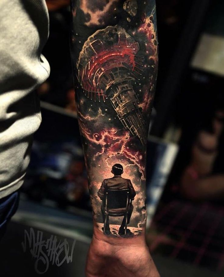 Majestic Mass Effect Tattoos