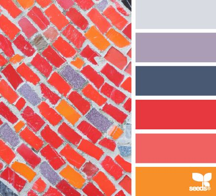 tiled brights: