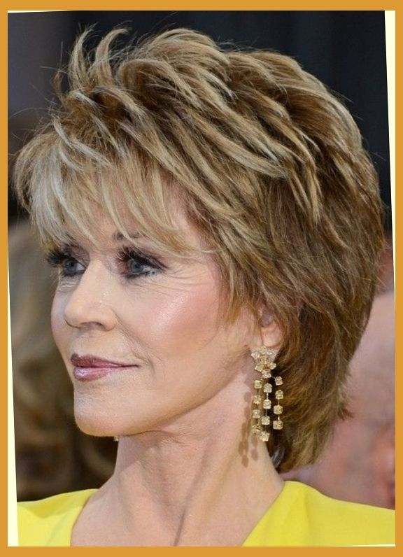 Hair Styles On Pinterest Jane Fonda For Women And Short