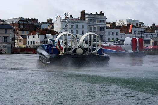 Hovertravel provides the fastest Isle of Wight ferry service across the Solent and is the world's longest running and only commercial hovercraft operator in Europe