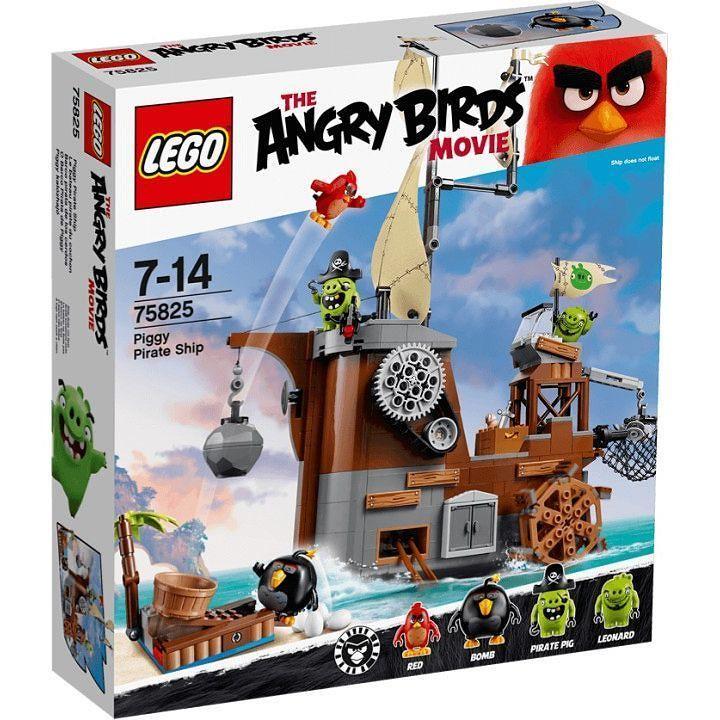 Забрось птичек на пиратский корабль свинок обыщи палубы и сразись с поросятами чтобы не дать им украсть яйца! #lego2016 #legkoo #lego #bricks #new #legonew #angrybirds #legoangrybirds #75825 #piggies #legostagram #building #adventures by legodnepr
