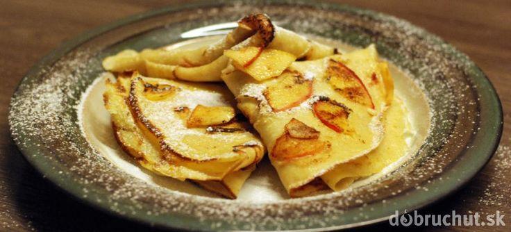 Fotorecept: Škoricové palacinky s jablkami