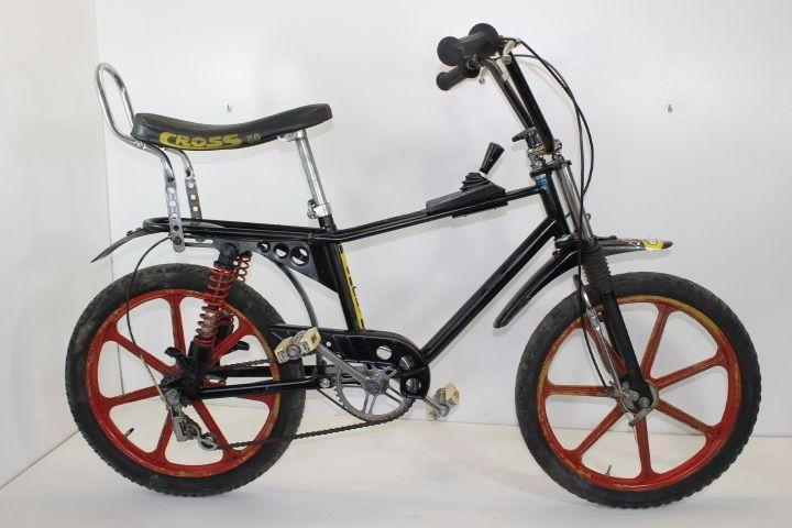 CROSS 20  bici cross ammortizzata bike vintage 70s Saltafoss 20