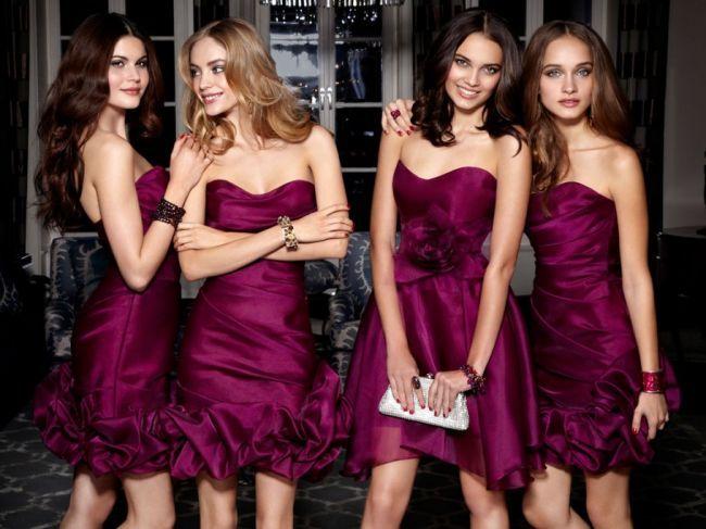 Fotos de Vestidos para Damas de Honor - Para Más Información Ingresa en: http://vestidosdenochecortos.com/fotos-de-vestidos-para-damas-de-honor/