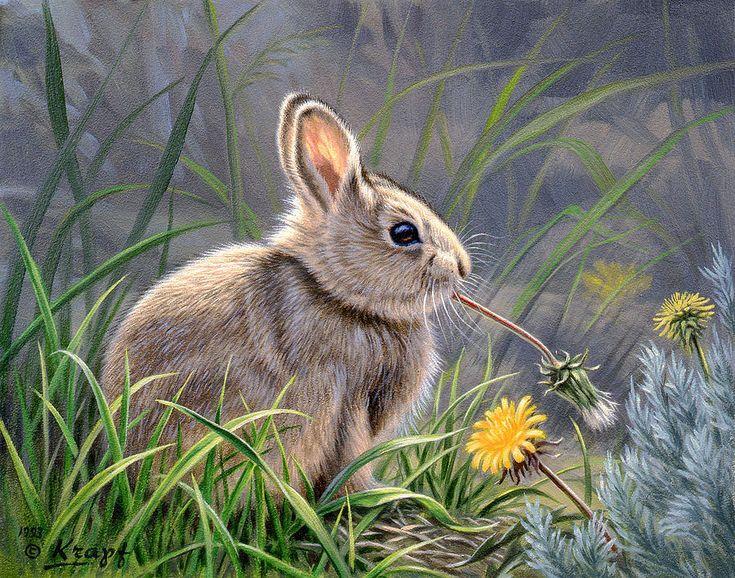 картина с зайцами ножками создают таких