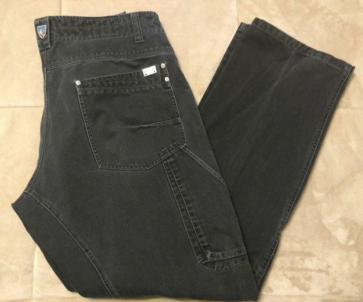 Kuhl Mens Pants Size 36 x 32 Crag Series Vintage Patina Dye GUNSLINGER #Kuhl #Hiking