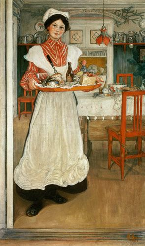 carl larsson prints | Martina'' / Carl Larsson / 1904 - Carl Larsson as art print or hand ...